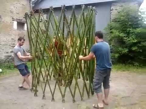Structure Mini Chap réalisée par le collectif d'artistes I.M. (Structure Yourte Flex470)