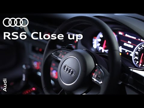 Audi RS 6 Performance: Up close