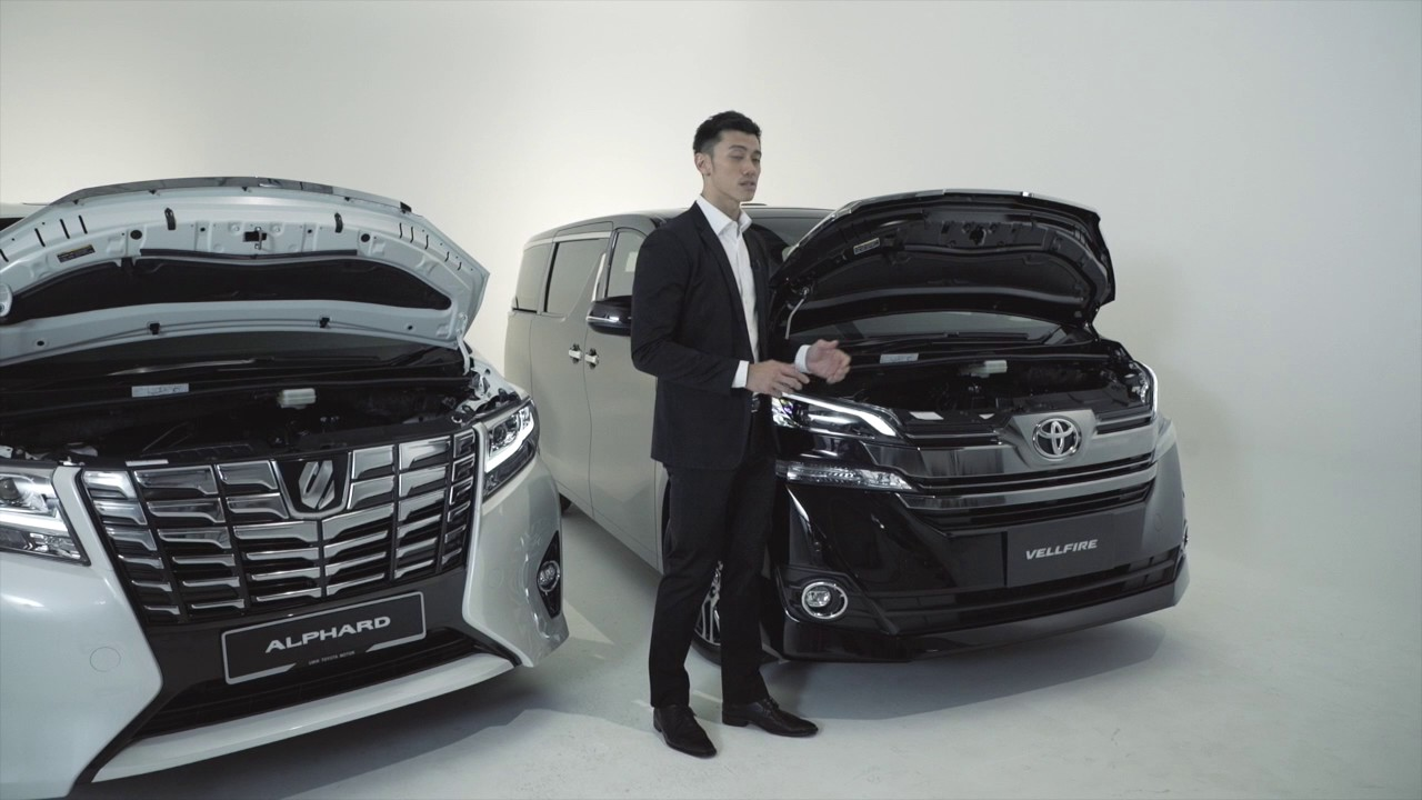 All New Alphard Vs Vellfire Grand Avanza Veloz 1.5 Putih The Toyota Youtube