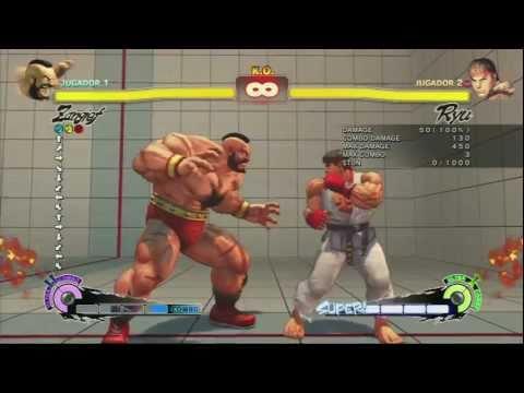 Tutorial Zangief SSFIV Arcade Edition
