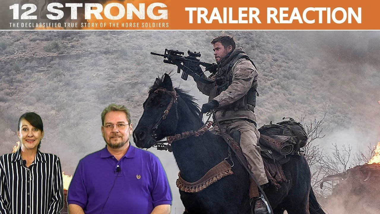 Download 12 Strong Trailer #1 (2018) - Reaction