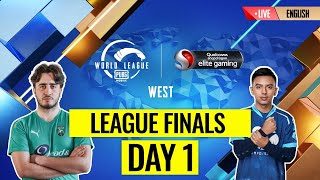 RERUN: [EN] PMWL WEST - League Finals Day 1 | PUBG MOBILE World League Season Zero (2020)