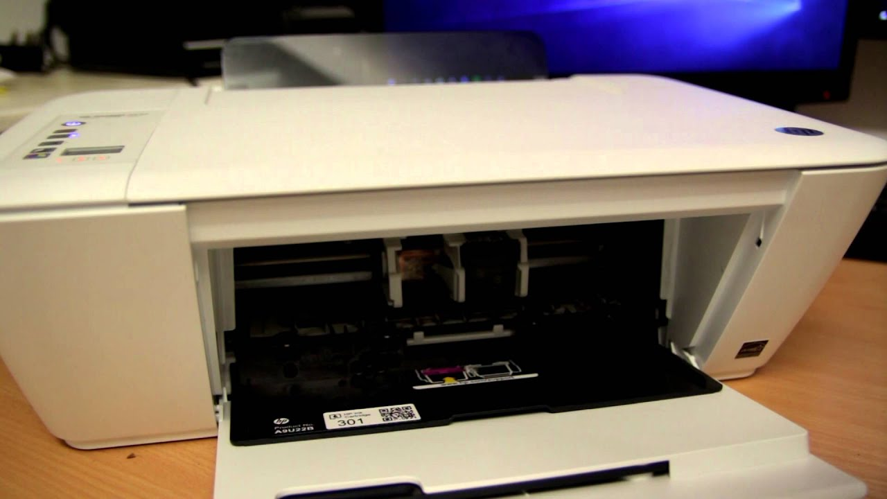 HP Deskjet 2540 - How to Replace Cartridges