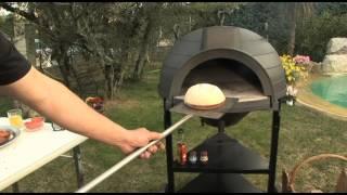 Barbecue avec four bois e evier suberbe barbecue avec four pizza et pain - Comment fabriquer un four a pizza bois ...