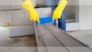 Lightweight Blockwork with Adhesive & Applicator
