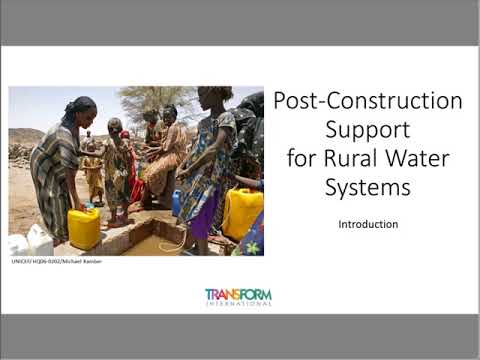 E4C Webinar l Post Construction Support for Rural Water Systems