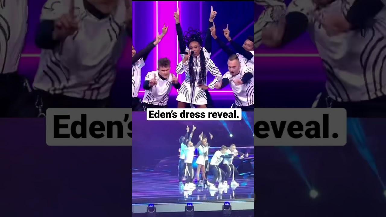 Israel Eurovision 2021: Eden Alene's grand final dress reveal | #Shorts