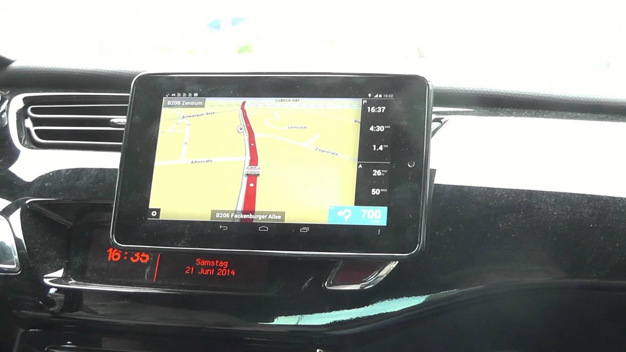tomtom navi navigation f r android test review deutsch german auf nexus 7 teil 2 youtube. Black Bedroom Furniture Sets. Home Design Ideas