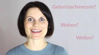 GEBURTSSCHMERZEN - Wie fühlen sich Wehen eigentlich an?
