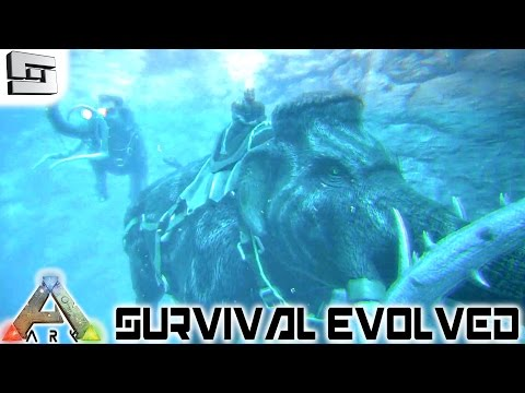 ARK: Survival Evolved - SWIMMING MAMMOTHS! E26 ( Gameplay )