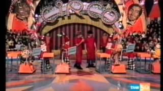"""Los payasos de la tele 1979 Gaby, Miliki, Fofito y Milikito  """"el triki triki"""""""