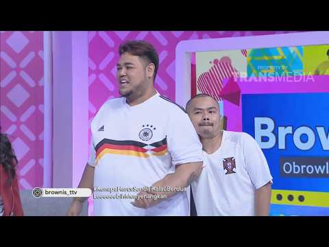BROWNIS - Reka Adegan Kocaak !! Duo Amour Dengan Rizky-Ridho Saling Berpasangan (4/5/18) Part 3