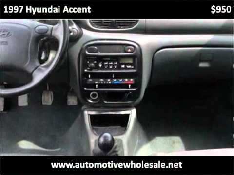 1997 Hyundai Accent Used Cars Centerburg Oh Youtube