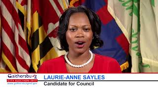 Laurie-Anne Sayles Candidate Statement 2017