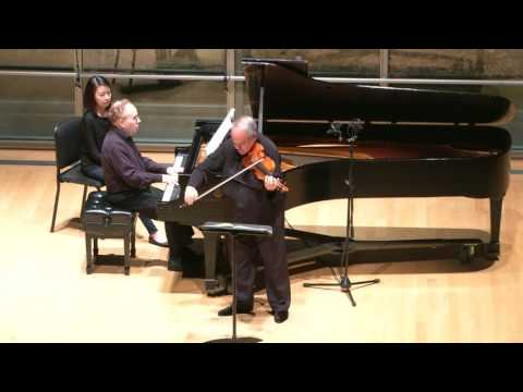 Jaime Laredo and Daniel Shapiro: Beethoven Violin Sonata No. 10, Op. 96