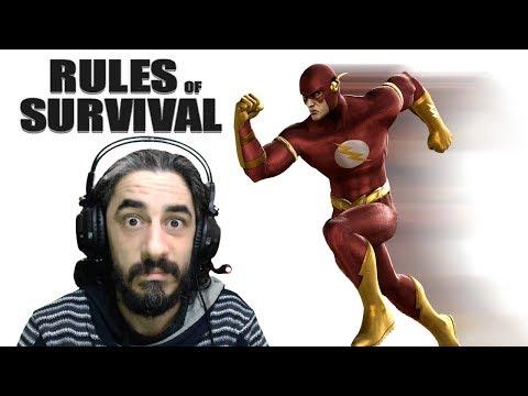 GALİBA FLASH İLE KARŞILAŞTIM :) - RULES OF SURVIVAL