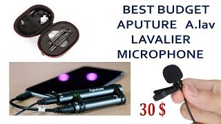 best budget lavalier microphone aputure A.lav review 2018