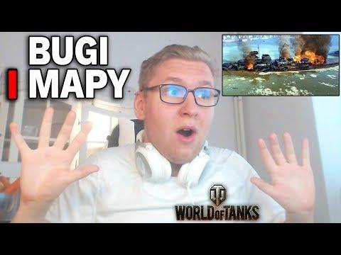 CIEKAWOSTKI i BUGI na mapach w HD - World of Tanks