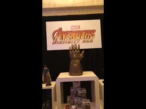 Robert Downey Jr Tom Holland  cast  live on facebook Backstage Press Conference Infinity War