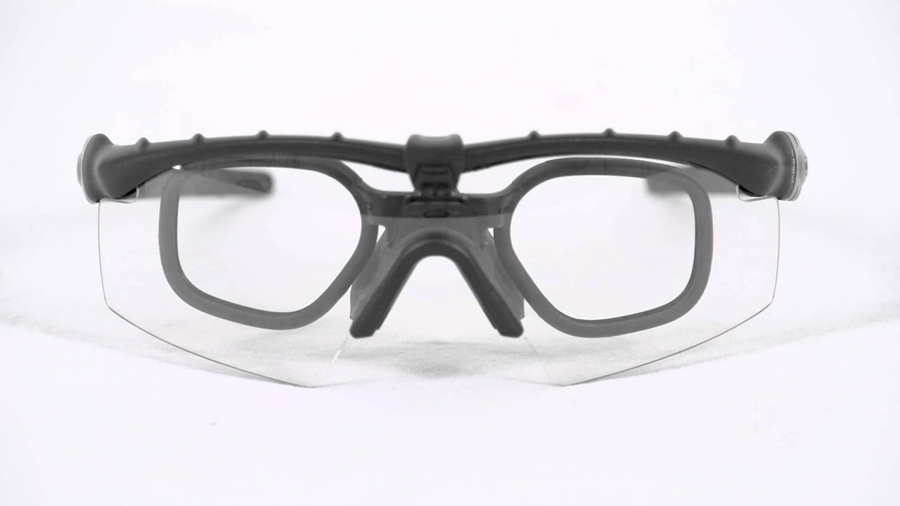 1cdabf1660ede Authorized Spectacles  Oakley SI Ballistic M Frame 2.0 - YouTube