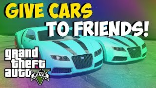 "Gta 5 Online - Give Cars To Friends! New ""free Super Car Glitch!"" Store Any Car In Garage! (gta 5)"