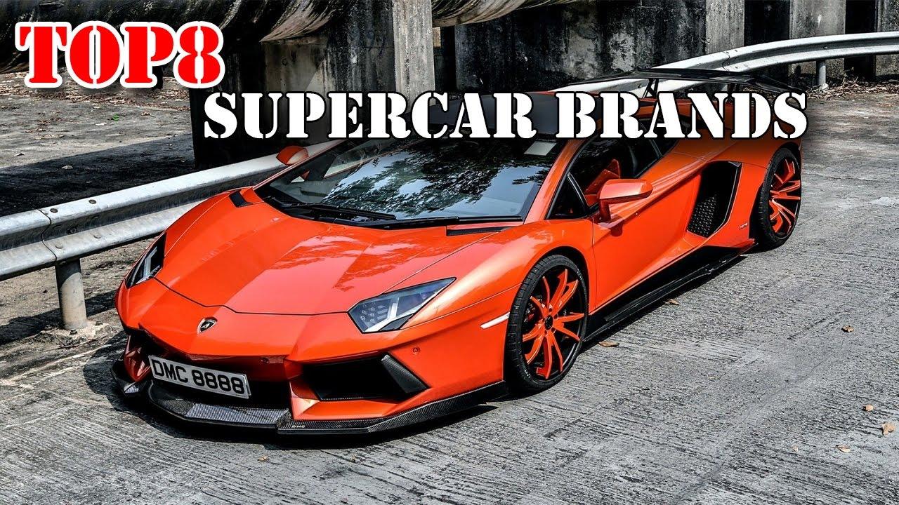 Best Supercar Brands Youtube
