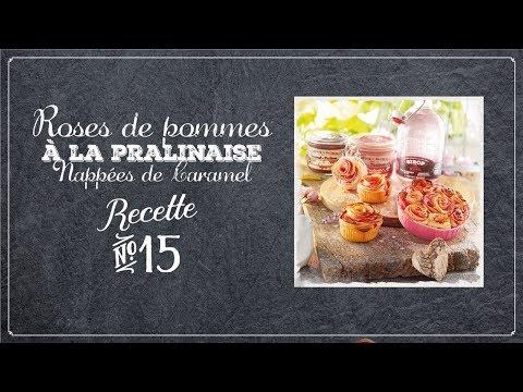 Roses de pommes - Comptoir de Mathilde