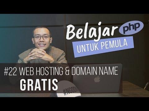 Belajar PHP Untuk PEMULA | 24. WEB HOSTING & DOMAIN NAME GRATIS