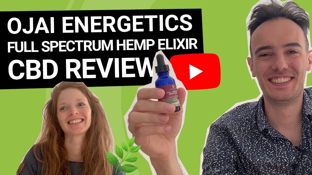 My 2 Months Ojai Energetics Full Spectrum Hemp Elixir CBD Review
