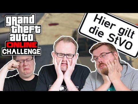 Challenge: HALT DICH AN DIE StVO! 🎮 Grand Theft Auto Online #198