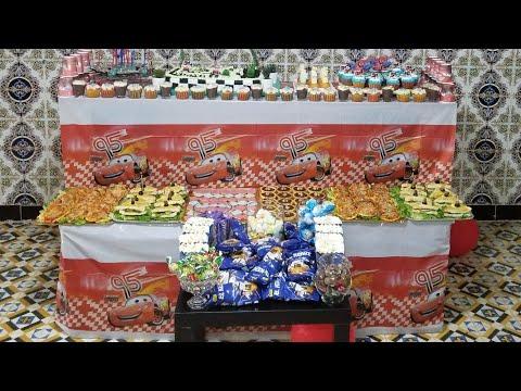 تزيين-بوفيه-عيد-ميلاد-أفكار-ووصفات-سهلة/birthday-party-food-ideas-buffet/joli-buffet-d'anniversaire