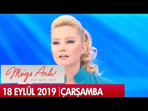Müge Anlı ile Tatlı Sert 18 Eylül 2019 - Tek Parça