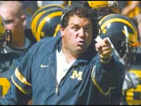 Is Michigan Football Coach Brady Hoke really Motivational Speaker Matt Foley?