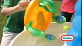 Outdoor Water Fun Waterpark Play Table Kids Summertoy Little Tikes Spiralin Seas