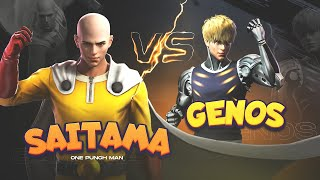 Saitama vs Genos Free Fire Legendry Fight Battle - Garena Free Fire