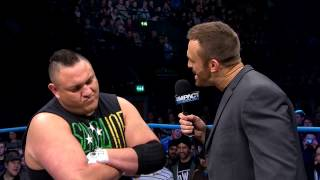 The final confrontation between Samoa Joe and Magnus before Lockdown (March 6, 2014)
