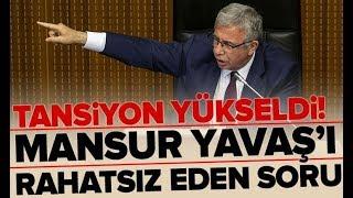 Mansur Yavaş'ı Rahatsız Eden Soru! Meclis'