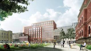 Timelapse Proposed New Faculty Of Law, Uio