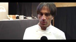 Davide Oldani a Magione per l'evento 'A porte aperte' di Cancelloni food service
