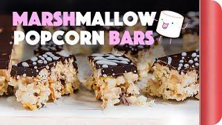 Super Geeky Marshmallow Popcorn Bars
