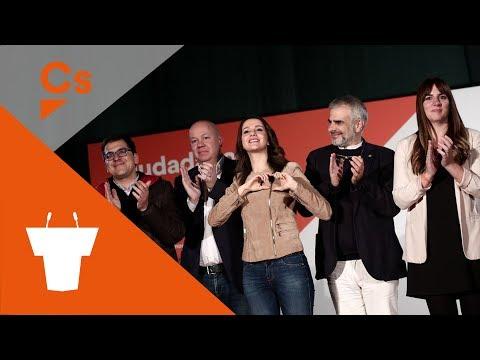 #SabadellNaranja. Acto político con Inés Arrimadas, Joan García y Noemí de la Calle thumbnail
