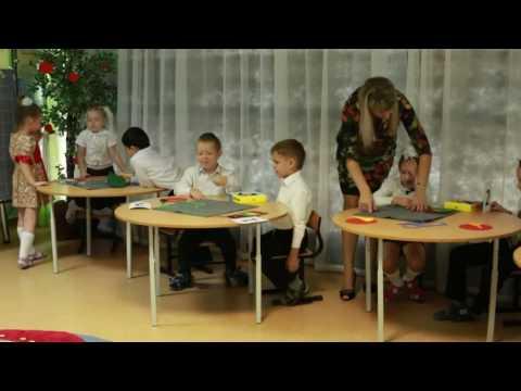 Открытый урок в детском саду, математическая сказка Гуси-лебеди