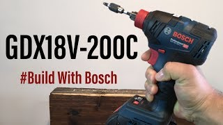 #BuildwithBosch Demonstration de la Boulonneuse GDX18V-200C