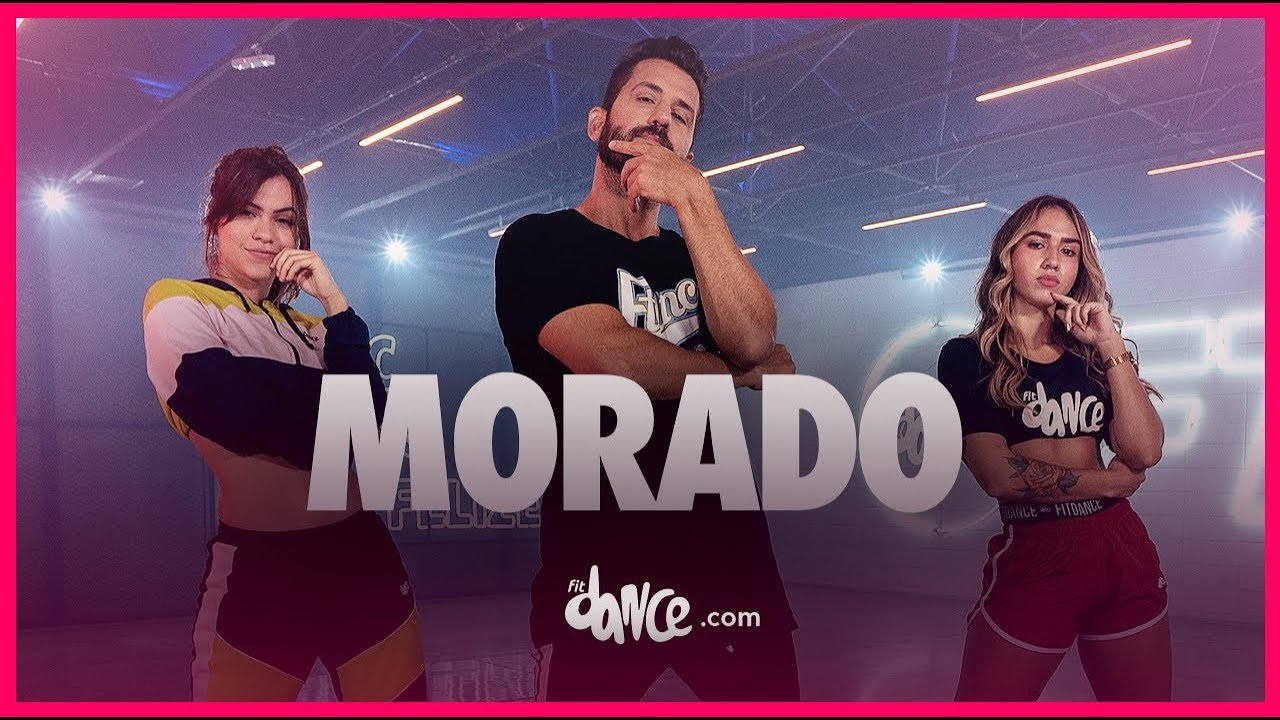 Download Morado - J Balvin | FitDance TV (Coreografia Oficial) Dance Video
