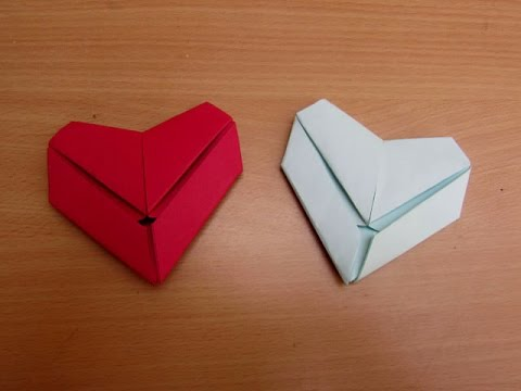How to Make a Paper Letter Fold Heart Easy Tutorials