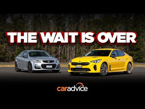 The King is Dead(?!) - Kia Stinger 330Si v Holden/Chevrolet Commodore SS-V Redline review