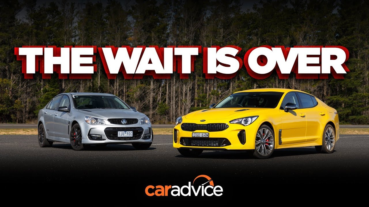 Kia Stinger 330Si v Holden/Chevrolet Commodore SS-V Redline review