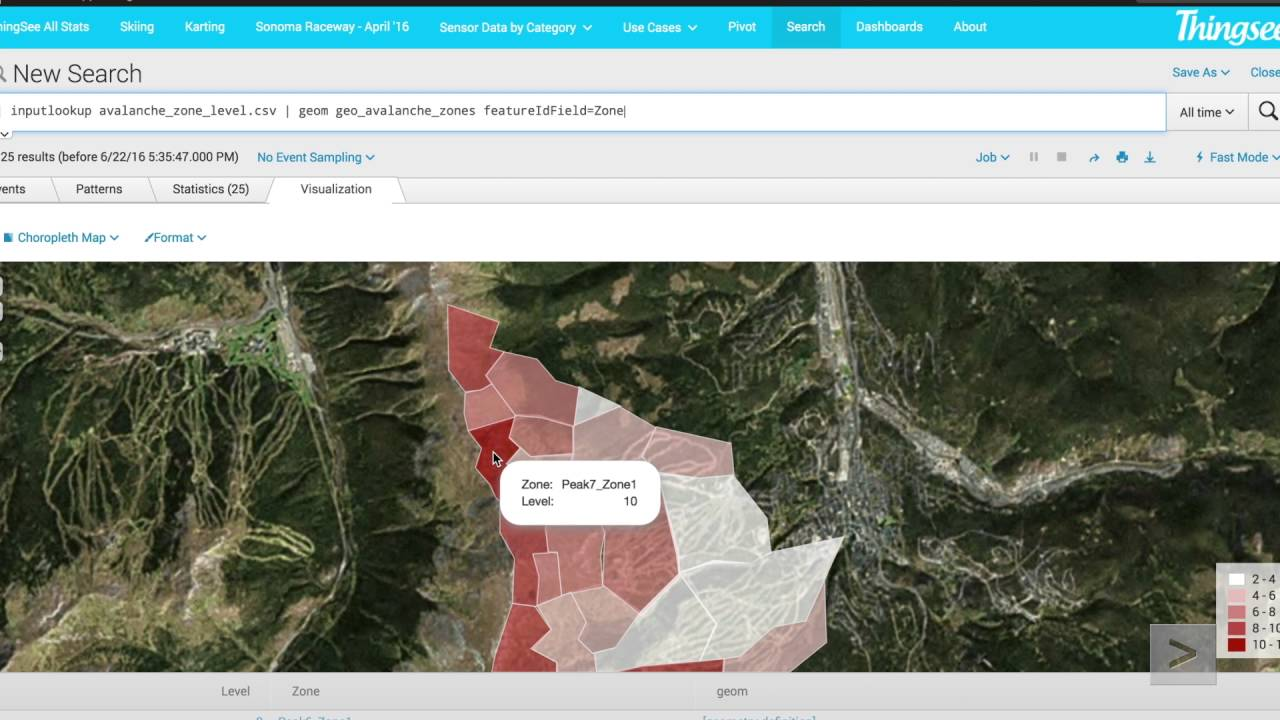Visualize Geographic Data in Real Time