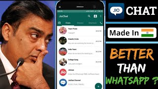 JioChat - Indian Whatsapp ? How to use JioChat in Android   Whatsapp Alternative Indian App