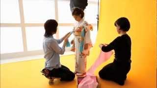 代々木公園・世田谷区にある写真スタジオ・スタジオ ニパポ(studio nipapo)の、七五三撮影の際の様子です。 渋谷区代々木公園スタジオは、代々...
